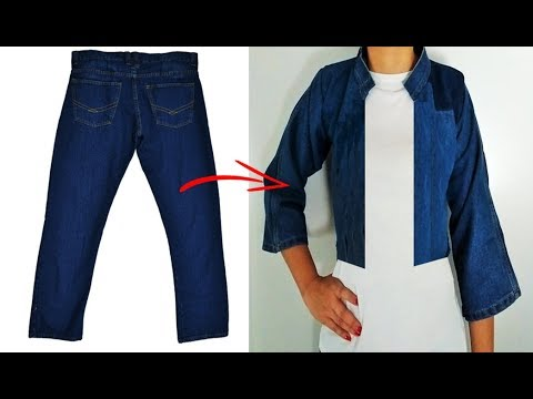 reciclar-jeans---chaqueta-de-jeans-viejos---diy:-reuse/-recycle-old-jeans