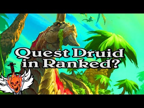 Quest Druid in Ranked? 🍀🎲 ~ Journey to Un'Goro ~ Hearthstone Heroes of Warcraft