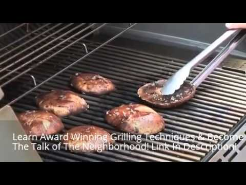 Grilling Portabello Mushrooms | How To Properly Grill Portabello Mushrooms