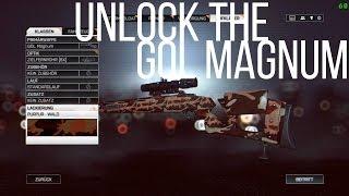 UNLOCK THE GOL Magnum / REVIEW (Battlefield 4 Second Assault Gameplay/ Deutsch)