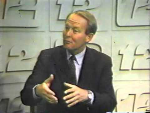 Tenn. Gov. Lamar Alexander on WDEF Chattanooga 1986