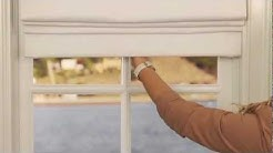 How To Install Cordless Roman Shades | Pottery Barn