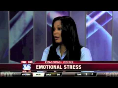 Depression Video Tips and Economic Stress Stock Market Crisis Dallas Counselor on Fox News