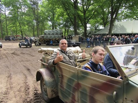 Ride with VW Kubelwagen