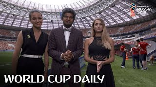 world cup daily - matchday 25 and it