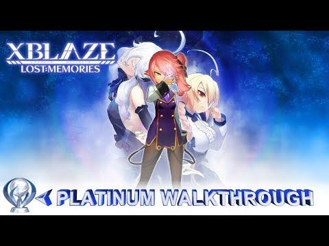 XBlaze Lost: Memories Platinum Walkthrough - 3 hour Platinum - Ps Plus December 2017