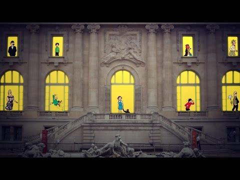Hergé : la bande-annonce de l'exposition