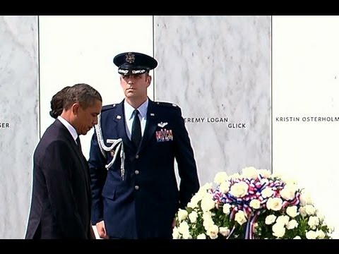President Obama Attends 9/11 Memorial Service in Shanksville, Pennsylvania