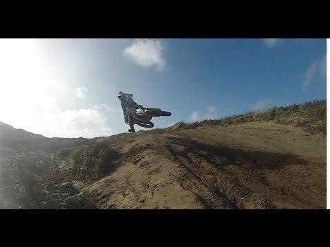 Motocross Sand Training / Jurby , Isle of Man - GoPro