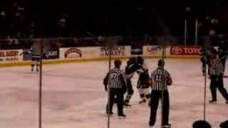 Keith Yandle vs. Adam Keefe Fight Clip