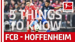 Bayern München vs TSG Hoffenheim - All You Need to Know - Season Opener 2018/19