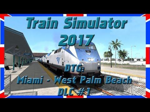 "Miami - West Palm Beach #2 | P42DC | Amtrak ""SILVER STAR"" | DLC | Train Simulator 2017 [Deutsch|HD]"