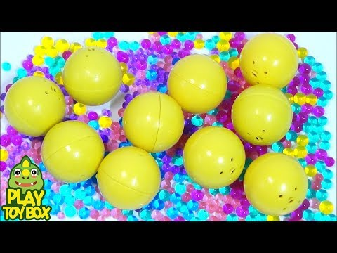 Color Orbeez Minions Ball Surprise Egg Toys Learn Colors