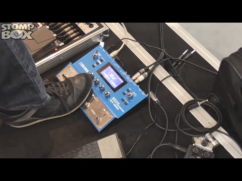 Unbelieveable Sounds! Boss SY-300 Guitar Synth Pedal Demo at Frankfurt Musikmesse 2015