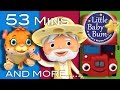 Nursery Rhymes Volume 7 | Plus Lots More Nursery Rhymes | 53 Minutes Compilation From Littlebabybum! video