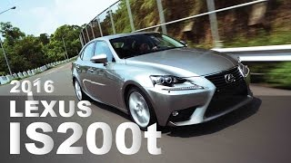 渦輪上身 2016 Lexus IS200t
