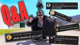 WHAT CAMERA DO I USE?! GAME of BOTTLE 16?? (Q&A)