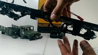 1/16 wpl b-16 6x6 kit build #2 done! Quick running/crawing/flexing test