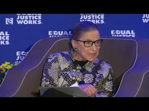 U.S. Justice Ginsburg says she doesn't plan to retire