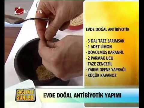 Evde Doğal Antibiyotik