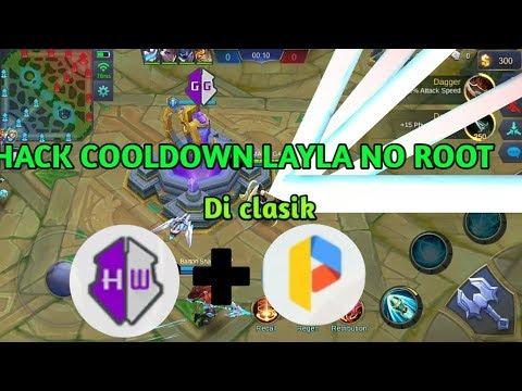 Tutorial Hack No Cooldown Skill Layla Di Clasik - Mobile Legend