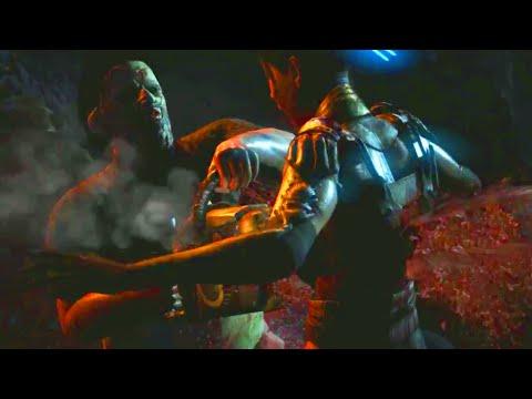 Mortal Kombat X: Leatherface FATALITY Gameplay - Mortal Kombat X Kombat Pack 2 Leatherface Gameplay