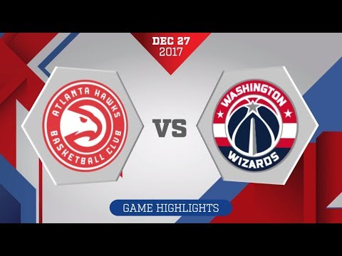 Washington Wizards vs. Atlanta Hawks - December 27, 2017