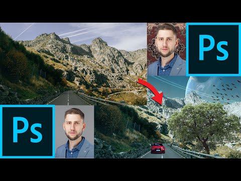 Как вырезать объекты в Photoshop - волшебное выделение