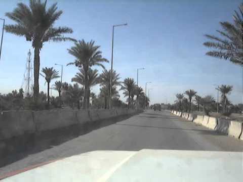 Behind a Bradley on Route Irish, (Nov 2005)