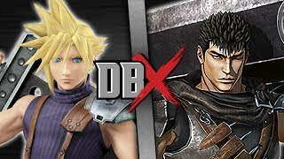 Cloud VS Guts (Final Fantasy VS Berserk) | DBX thumbnail