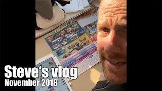 Vlog November 2018 - A lot of work!