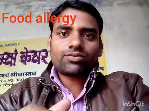 Food allergy homeopathic treatment