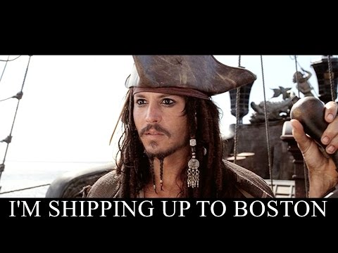 Im Shipping Up To Boston  Pirates Of The Carribean