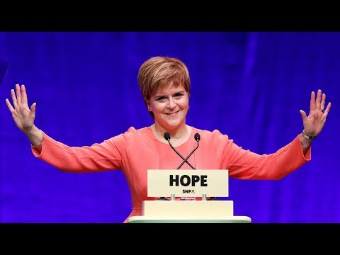 Sturgeon delivers keynote speech at the SNP National Conference