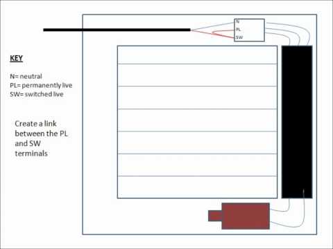 how to wire a timed extractor fan without using the timer function Wiring Diagram for a Swamp Cooler