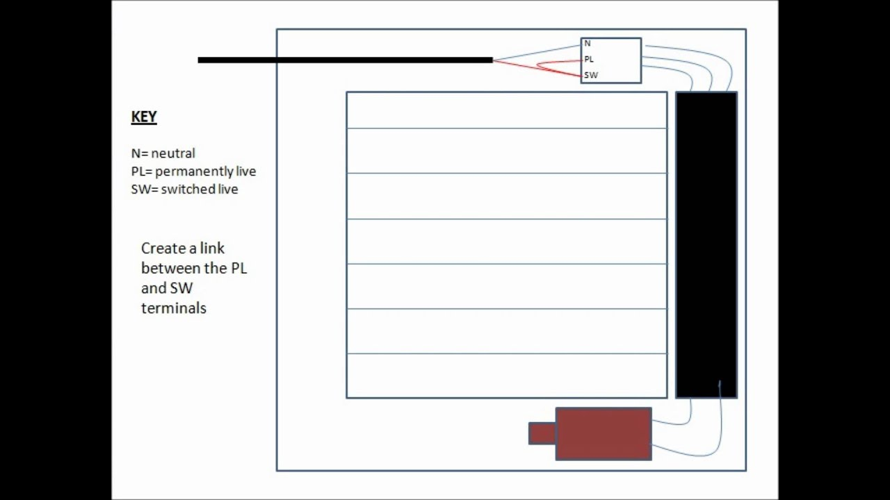 medium resolution of how to wire a timed extractor fan without using the timer function wiring diagram for a timed extractor fan