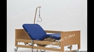 Медицинская кровать с электроприводом Arminia(Более подробно с характеристиками кровати Arminia можно ознакомиться на сайте http://www.met.ru/goods/6229/. 4-х секционная..., 2013-06-13T12:37:42.000Z)