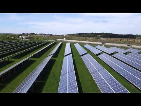 Sonnenenergie aus dem Solarpark Frauental