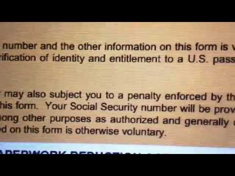 Get Port Without Social Security Number