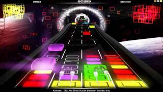 Audiosurf | Kosheen - (Slip And Slide) Suicide (Kosheen extended mix) | DVE