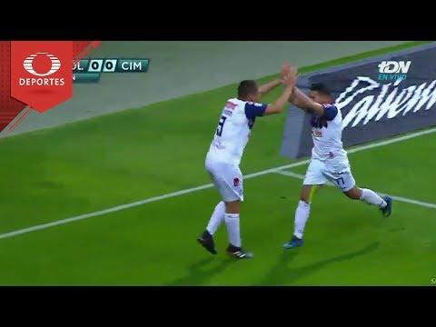 Gol de Sergio Vázquez | Chivas 0 - 1 Cimarrones | Copa Mx - J4 - Cl 19 | Televisa Deportes