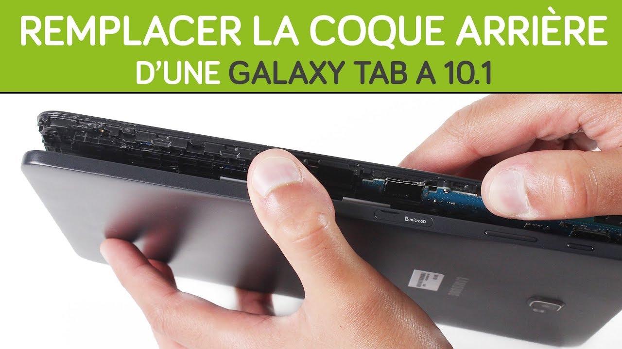 Changer sa coque arrière Galaxy Tab A 10.1 (2016). By SOSav