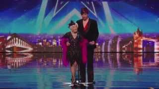 Paddy 80 years old & Nico- Electric Ballroom (Salsa)  Britain's Got Talent 2014 Audition