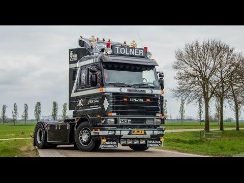 TOLNER Transport|New Scania 143M 500|foto/film-mix|V8 sound|