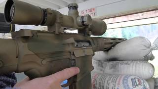 Custom Ar-10 Sniper Rifle Review And Shooting
