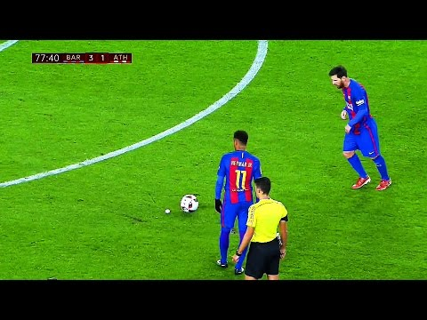 10 Ridiculously Smart & Cheeky Things Lionel Messi Did in 2017 Season HD