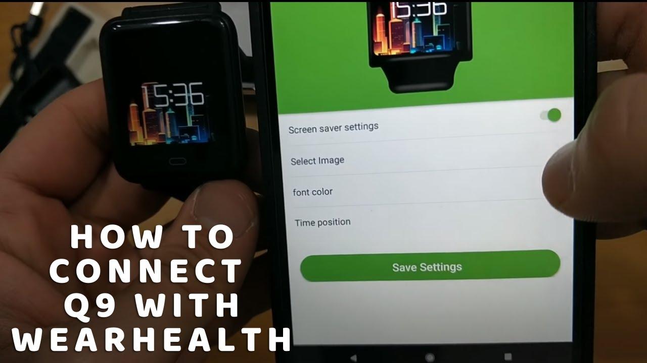 q9 smart watch app download