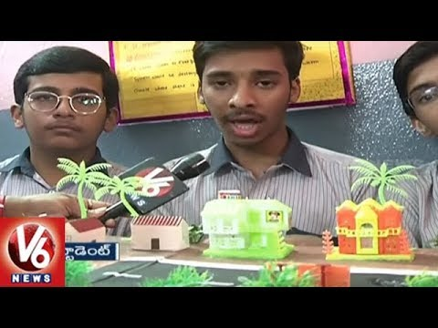 Nalanda School Organises Science Fair, Students Innovative Projects Attracts  Visitors | V6 News