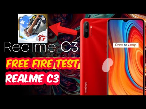Realme C3 Free Fire Test Free Fire Gameplay On Realme C3 Youtube