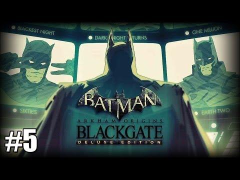 Batman: Arkham Origins Blackgate - Part 5 - Joker Scared Me! [Deluxe Edition Walkthrough] |